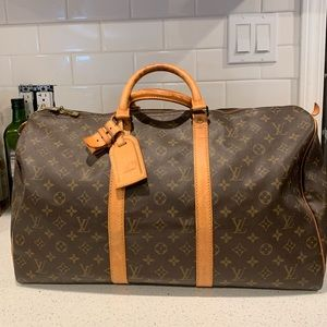 Authentic Louis Vuitton keepal 45